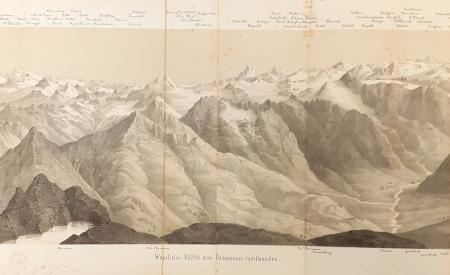 Westliche Hälfte des Panoramas vom Basodino