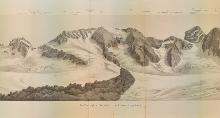 Der Puntaiglas Gletscher und seine Umgebung