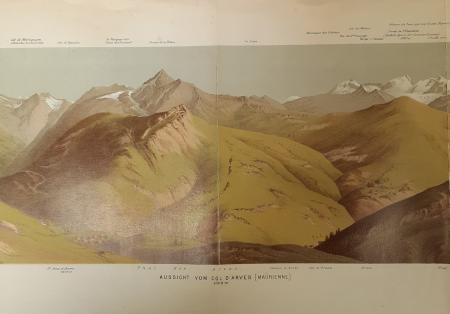 Aussicht vom Col d'Arves [Maurienne]