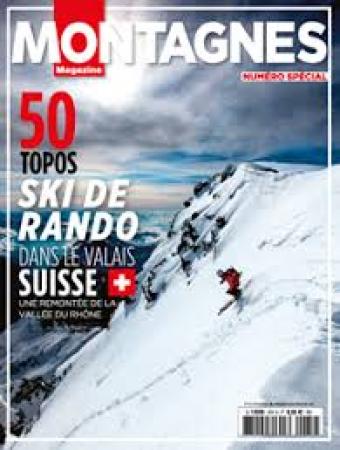 Spécial ski de rando dans le Valais Suisse, une remontée de la Vallée du Rhône