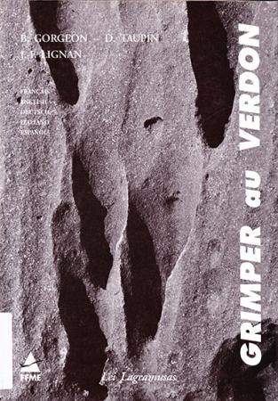 Grimper, climbing, klettern, arrampicarsi, escalar au Verdon