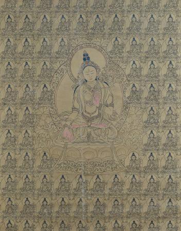 Tārā bianca [dipinto (sGrol dkar; Sitatārā)]