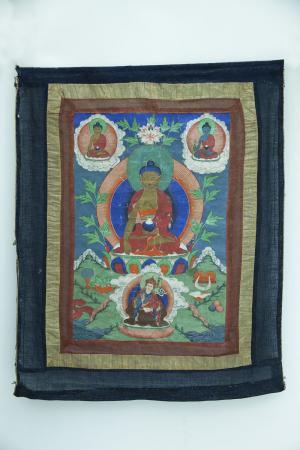 Padmasambhava [dipinto (t'ah ka)]