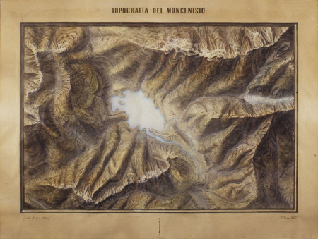 Topografia del Moncenisio
