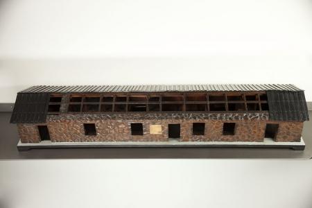 Modello architettonico del Rifugio Vittorio Emanuele