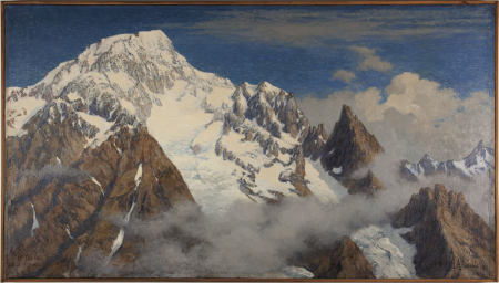 Il Monte Bianco visto dal Fortin