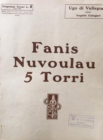 Fanis, Nuvoulau, 5 Torri