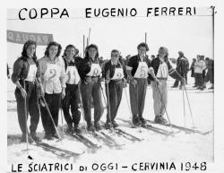 Coppa Eugenio Ferreri. Le sciatrici di oggi - Cervinia