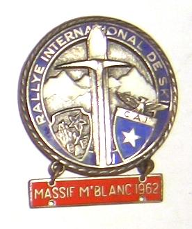 Rallye International de Ski Massif Mt Blanc 1962