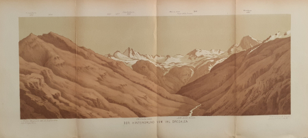 Der Hintergrund von Val Bregalga