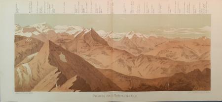 Panorama vom Gifferhorn, 2563 Meter