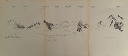 Oberaarhorn - Galmihörner vom Studerfirn 3064 m. ges