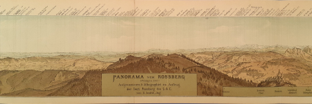 Panorama vom Rossberg