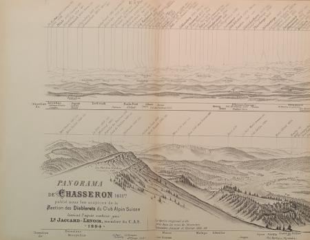 Panorama de Chasseron, 1611 m.