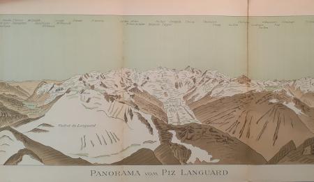 Panorama vom Piz Languard