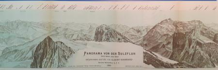 Panorama von der Sulzfluh