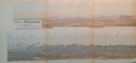Panorama vom Weissenstein