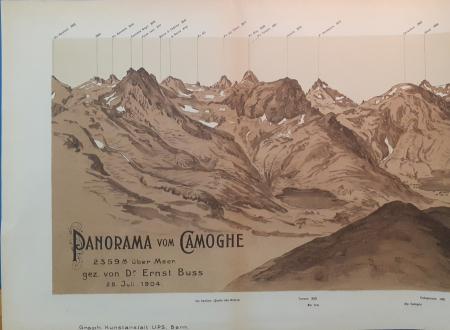 Panorama vom Camoghè, 2359 M. über Meer