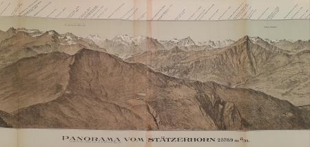 Panorama vom Stätzerhorn, 2578,9 m.ü.M