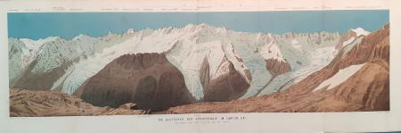 Die Gletscher der Geschenenalp im Canton Uri