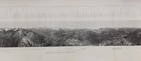 Rundsicht vom Badus oder Six Madun, 2931 M Ü.M
