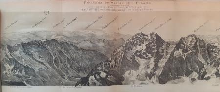 Panorama du massif de l'Oisans