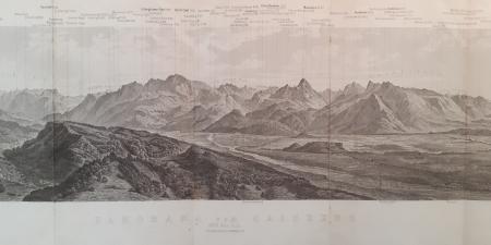 Panorama vom Gaisberg