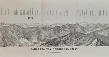 Panorama vom Bernkogel 2324 m.
