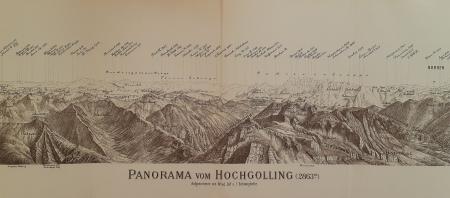 Panorama vom Hochgolling (2863 m.)