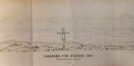 Panorama vom Patscherkofl 2214 m.