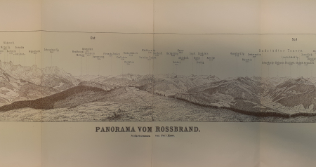 Panorama vom Rossbrand