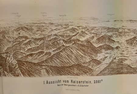 1. Aussicht vom Kaiserstein, 2061 m.