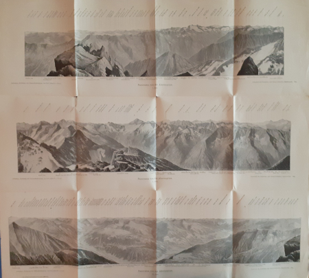 Panorama von der Ahornspitze. 1: Blatt; 2: Blatt; 3: Blatt