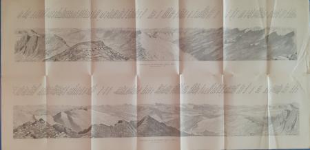 Rundschau von der Kassianspitze, 2583 m. Blatt 1; Blatt 2