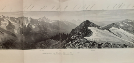 Venedigergruppe und Zillerthaler Alpen vom Glockenkarkopf