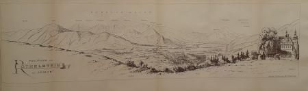 Panorama von Röthelstein bei Admont