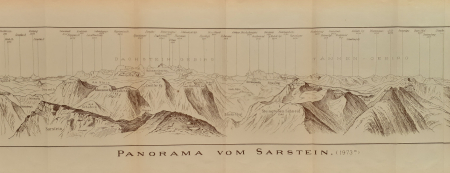 Panorama vom Sarstein