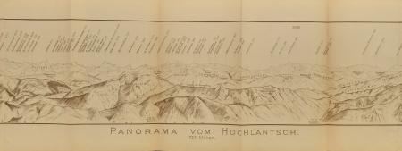 Panorama vom Hochlantsch