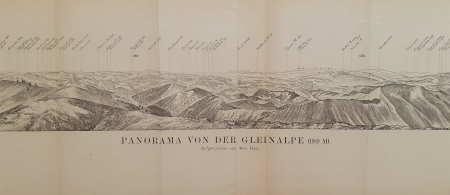 Panorama von der Gleinalpe