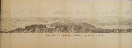Panorama vom Buchkogel (659 m) bei Graz