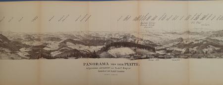Panorama von der Platte