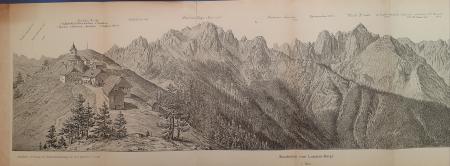 Rundschau vom Luschari-Berge. 1. Blatt; 2. Blatt; 3. Blatt
