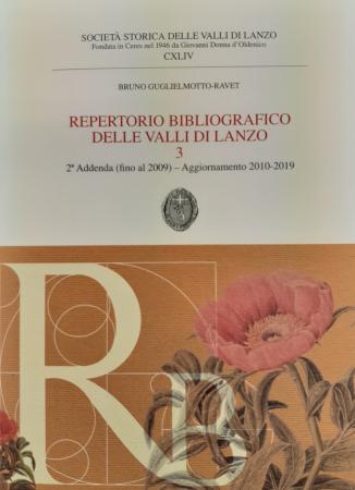 Repertorio bibliografico delle Valli di Lanzo 3