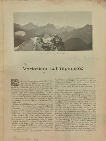 Variazioni sull'alpinismo