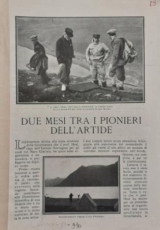 Due mesi tra i pionieri dell'Artide