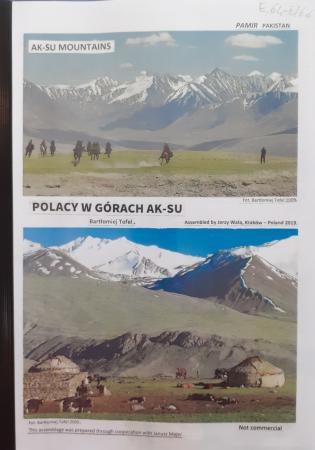 Polacy w górach ak-su