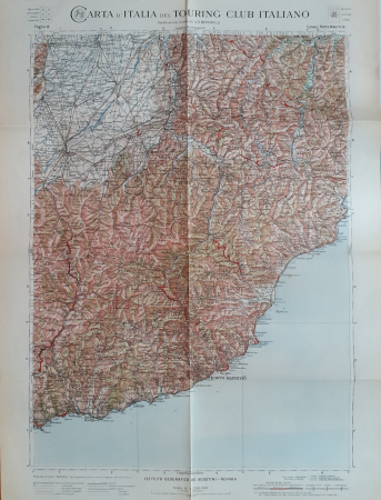 Foglio 15: Cuneo-Porto Maurizio
