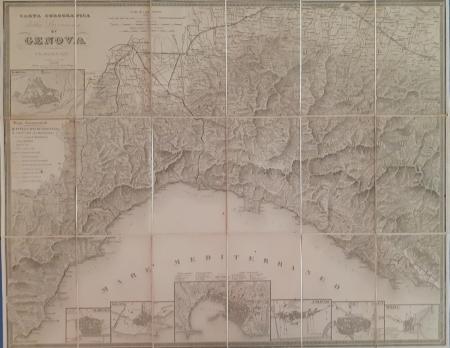 Carta corografica della provincia di Genova ed adiacenze