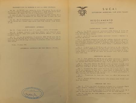 Regolamento della Sottosezione di Torino