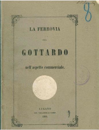 La ferrovia del Gottardo nell'aspetto commerciale